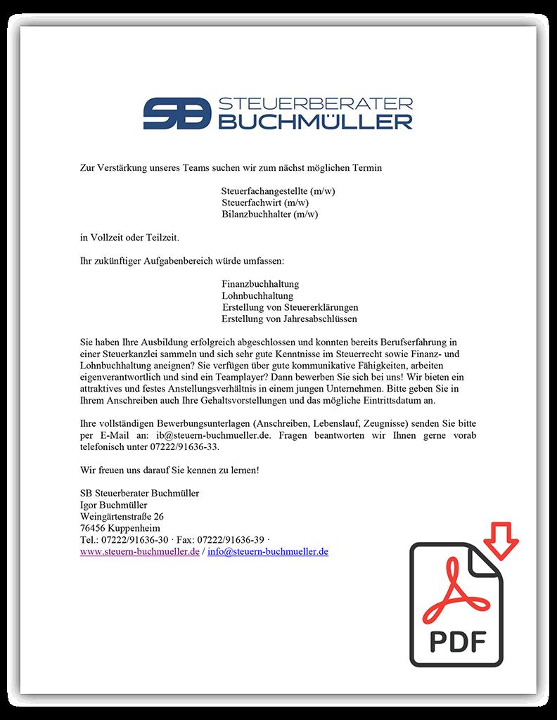 SB Steuerberater Buchmüller - Aktuelles Wissen, moderne Software und ...